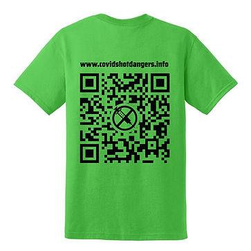 Covid QR code tshirt_Electric green back.jpg