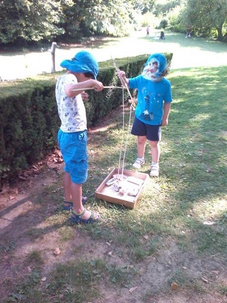 Atelier pêche à la ligne pour les enfants !