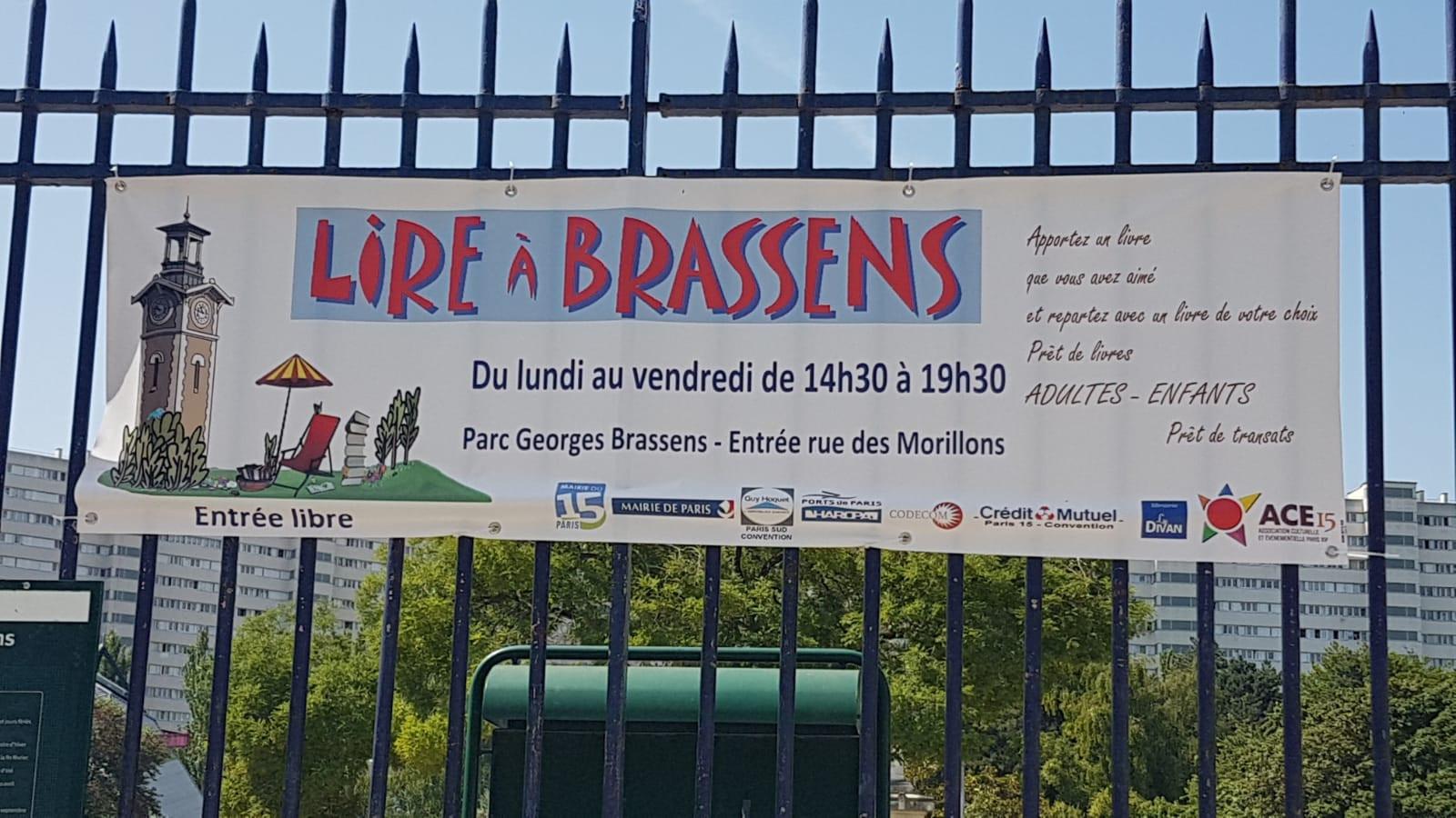 """""""Lire à Brassens"""" à travers le quartier"""