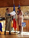 REMISE DU CHEQUE ACE15 A LA PDT D'HAITI