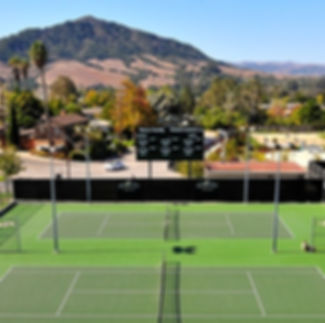 View of Cal Poly Courts