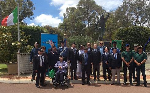 Perth - Commemorazione caduti 8 novembre