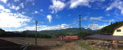 牧場内 全景*