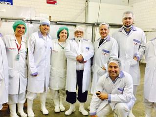 Presidente do INMETRO visita indústria de pescado e prepara ações de combate à fraude.