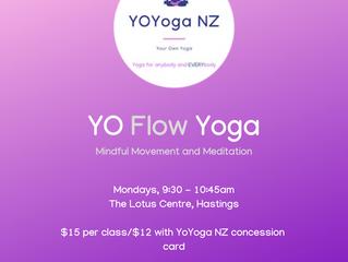YO Flow Yoga - Mindful Movement and Meditation