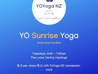 YO Sunrise Yoga - Arise and Awaken