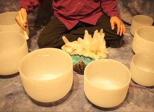Crystal Evening and Crystal Singing Bowls