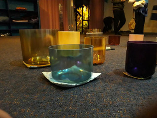Crystal Class and Crystal Bowl Meditation
