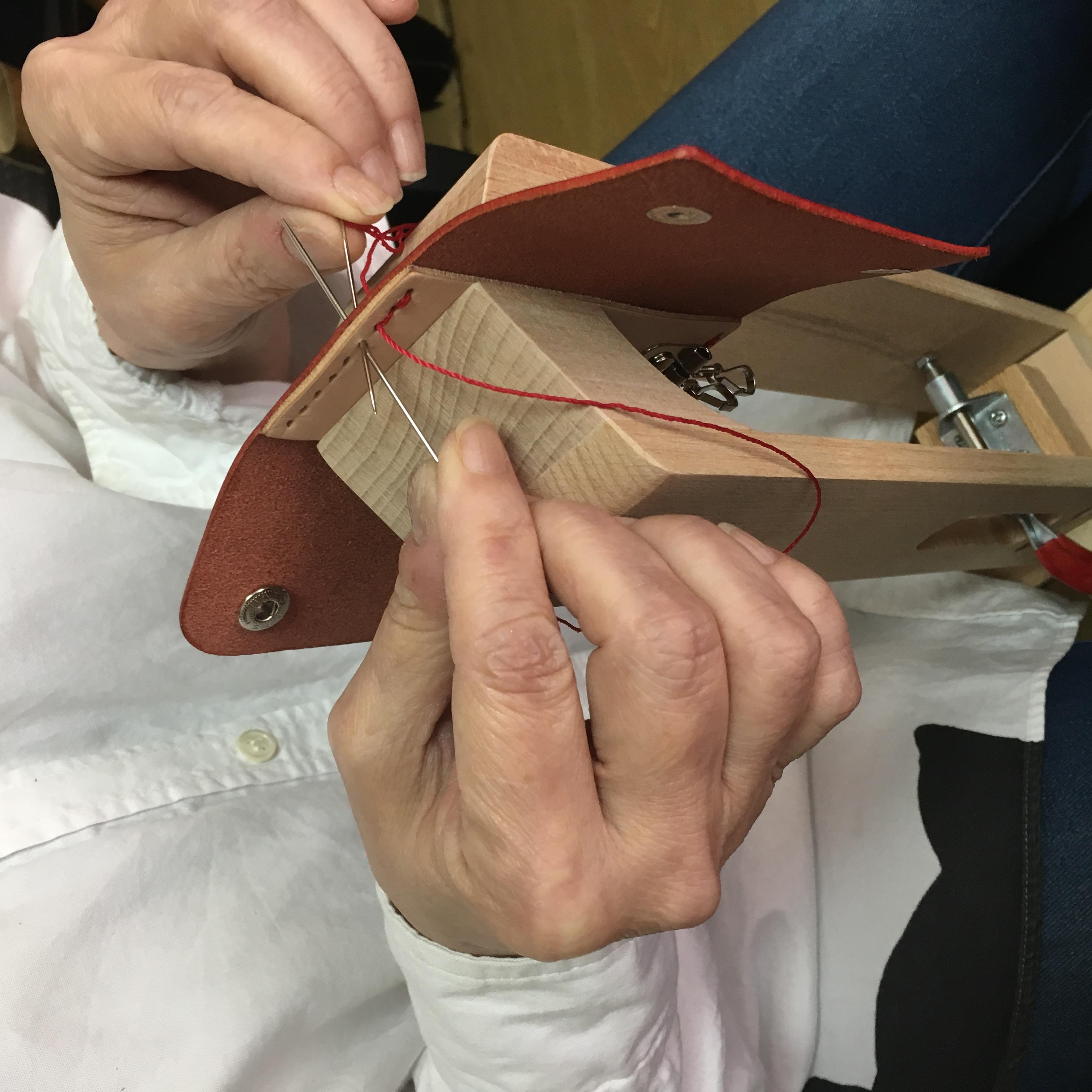 ワークショップ 手縫いの様子2