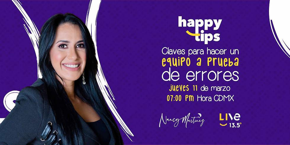HAPPY TIPS - CLAVES PARA HACER UN EQUIPO A PRUEBA DE ERRORES
