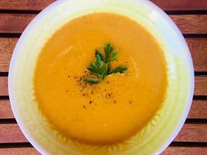 🧡 Nyári termékenységfokozó leves – sárgarépás avokádós gazpacho 🧡