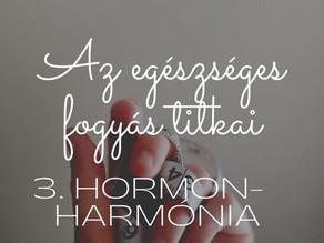Az egészséges fogyás titkai 3. Hormonharmónia