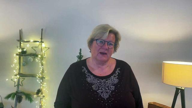 Weihnachtsbotschaft von Susanne Wustl