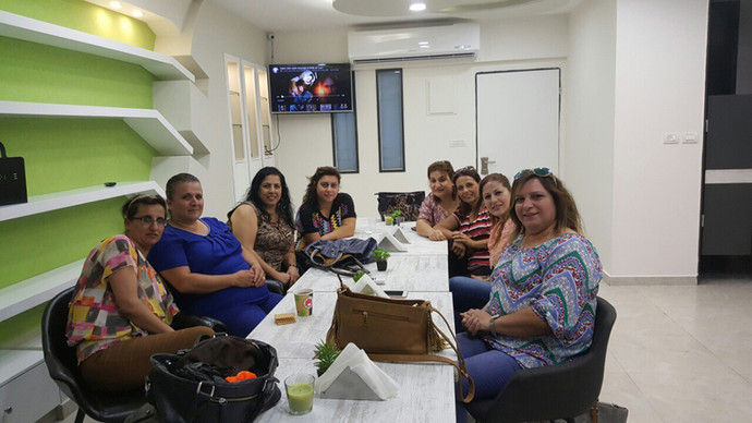 Widow's Meeting at our Bethlehem Communi