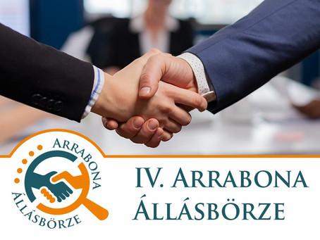 Munkát keresel? Találkozzunk a IV. Arrabona Állásbörzén!