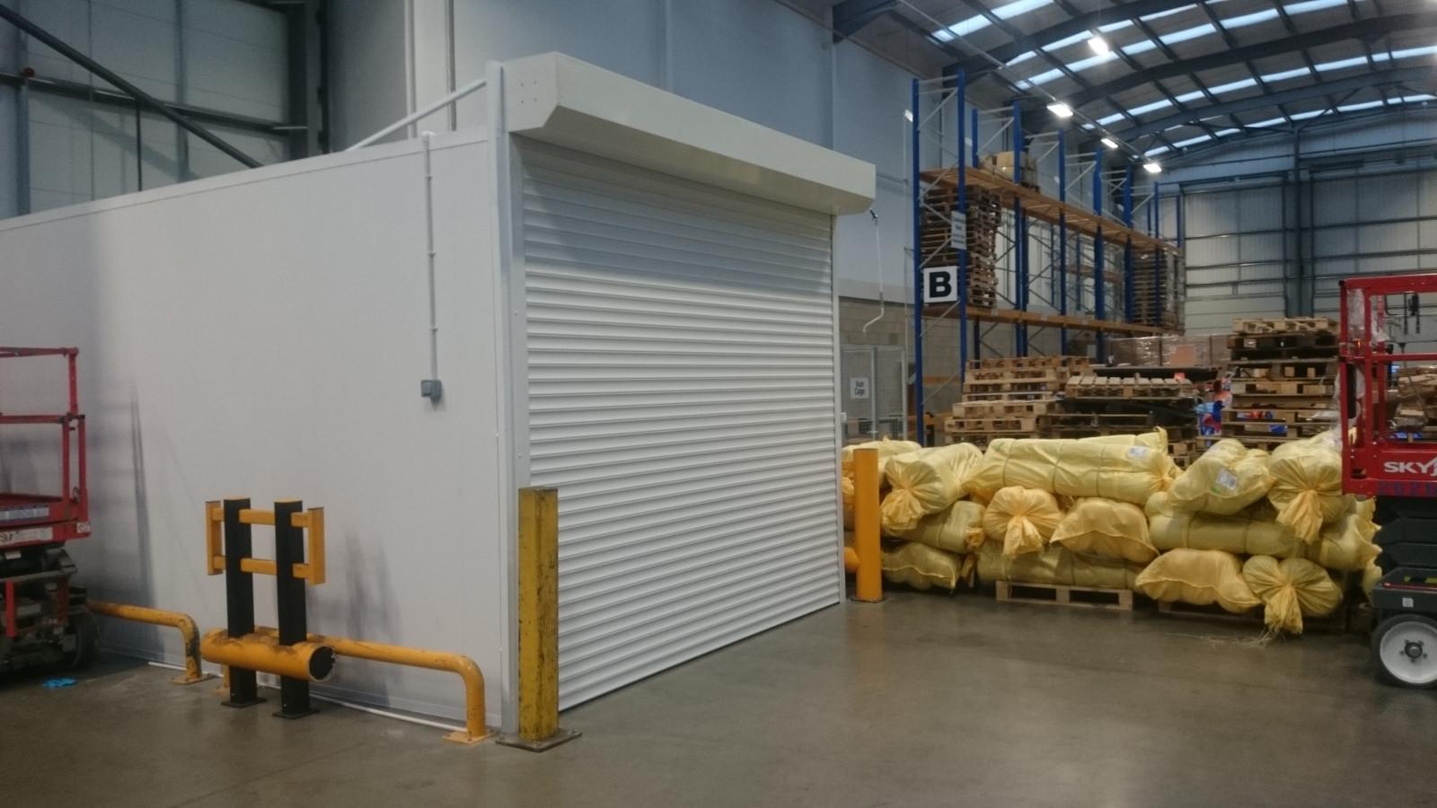 Garage Roller Shutter Doors Andover Hampshire Door