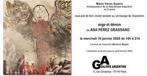 ANGE ET DEMON Galerie Argentine