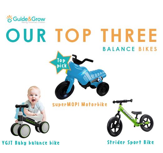 Our Top 3 Balance Bikes