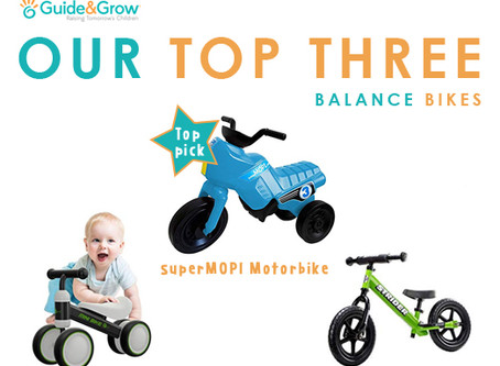 Our TOP three balance bikes on the market for your toddler + two's!