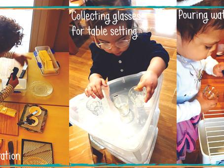 Montessori & Practical life Part 2