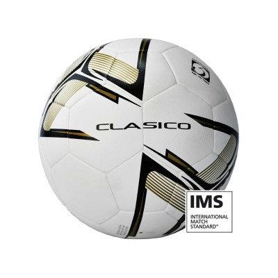 Precision Clasico Match Ball White/Black/Gold