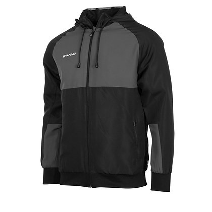 Stanno Centro Micro Hooded Jacket - Adult