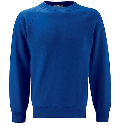Classic School Sweatshirt - 10 Colours Available (Blue Max Banner)
