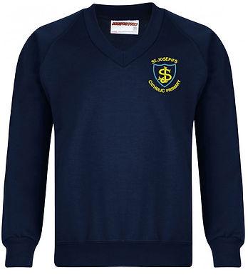 St Joseph's Catholic Primary -  V Neck Sweatshirt