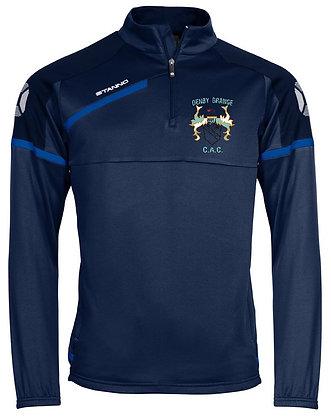 Denby Grange C.A.C Half Zip Sweatshirt - Adult