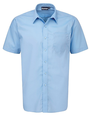 Twin Pack Short Sleeve Shirts - 3 Colours Available