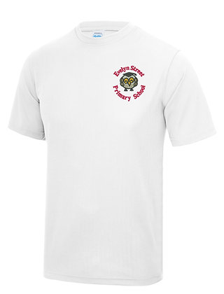 Evelyn Street Primary - White PE Top