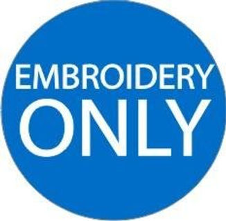 GT Sankey - Embroider Your Own Items Only