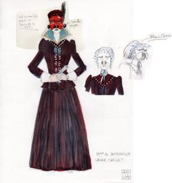 Madame De Sautenville - Dandin