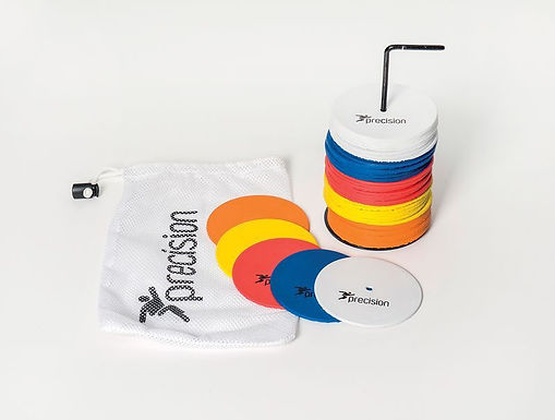 Precision Small Round Rubber Marker Discs (Set of 50)