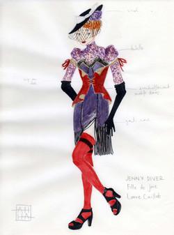 Jenny Diver - L'Opéra du Gueux