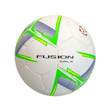 Precision Fusion Sala Futsal Ball (White/Fluo Green/Fluo Yellow)