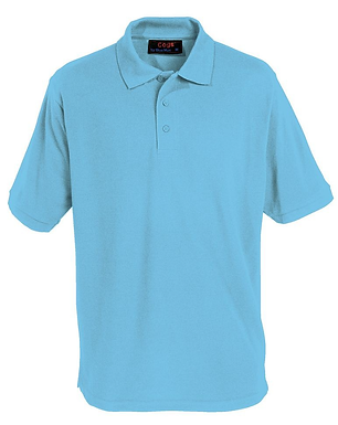Cogs School Polo Shirt - 9 Colours Available  (Blue Max Banner)