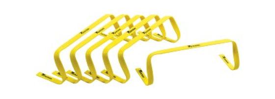 "Precision 6"" High Flat Hurdles Set - Yellow ( Set of 6 )"