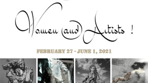 """The ONE Museum :  """"Women AND Artists!"""" 4 Expositions Monographiques Simultanées"""