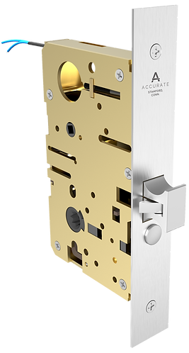 Self-Latching Electrified Mortise Lock for Sliding Doors