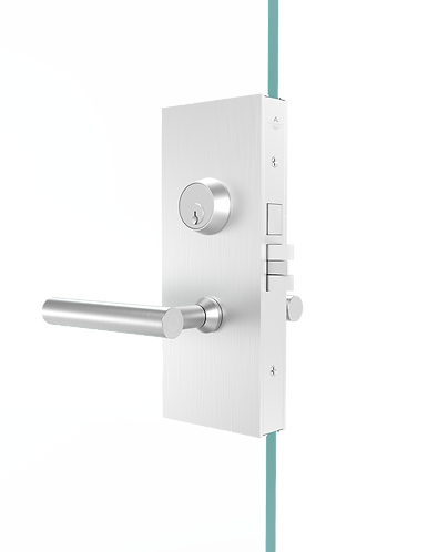 G87 Glass Patch Mortise Set