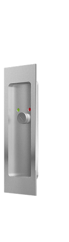 Flush Pulls with Occupancy Indicator