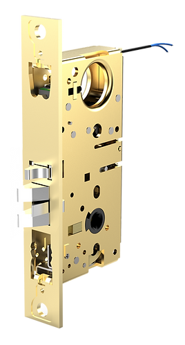 M885XE Motor Drive Narrow Backset Mortise Lock No Faceplate