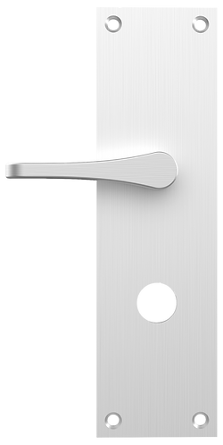 1E-ADA Escutcheon Plate with 7200ADA Thumb Turn