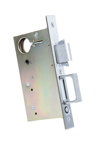 2002CPDL Combination Pocket Door Lock and Edge Pull