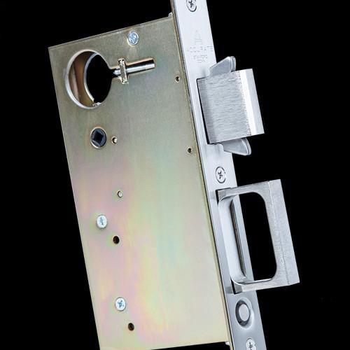 2002cpdl Combination Pocket Door Lock And Edge Pull