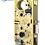 M885XE Motor Drive Narrow Backset Mortise Lock