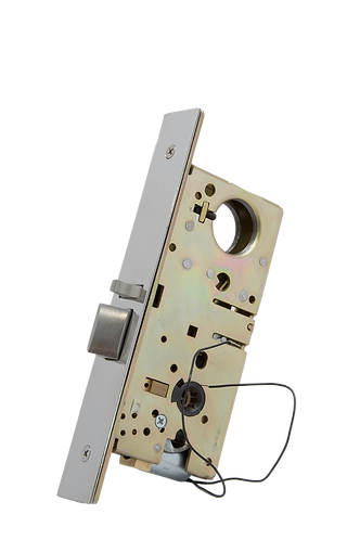 8759EU / 8859EU Narrow Backset Electrified Mortise Lock FAIL SECURE