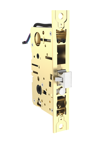 SmartEntry SL-SM9159E Self-Latching Smartphone Mortise Lock for Sliding Doors