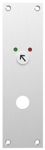 1E-Oi Escutcheon Plate with Occupancy Indicator